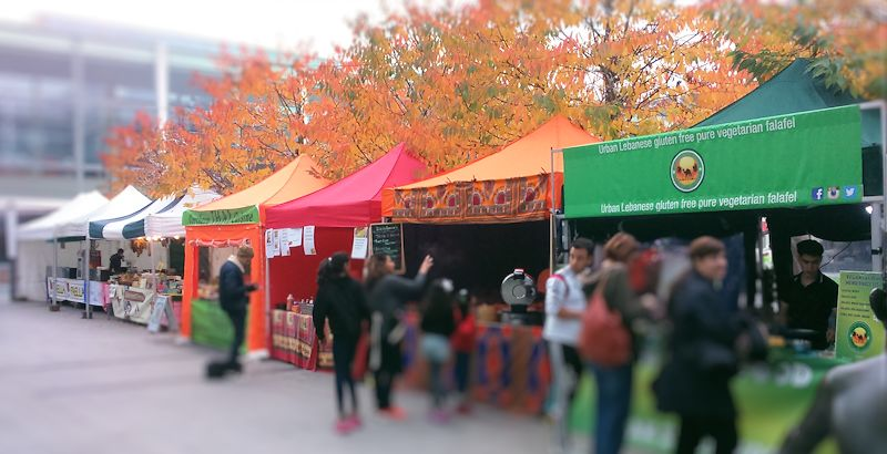 DinnerData image of street food fair Centre:MK Milton Keynes October 2016