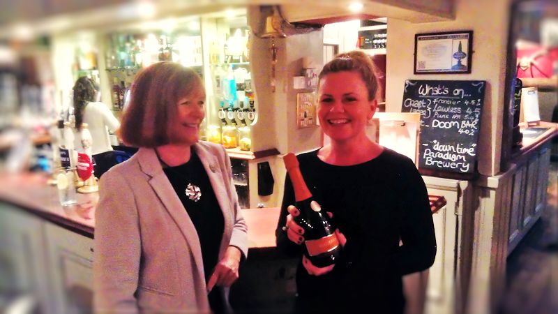 image of DinnerData Prosecco winner Coach and Horses