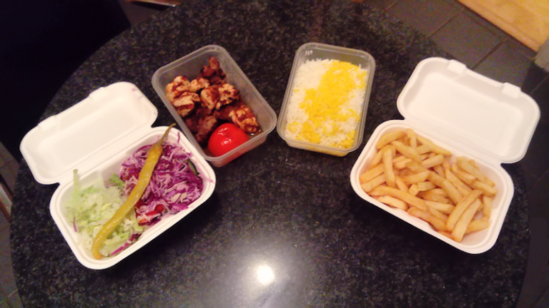 image of pardis meal mixed kebab takeaway