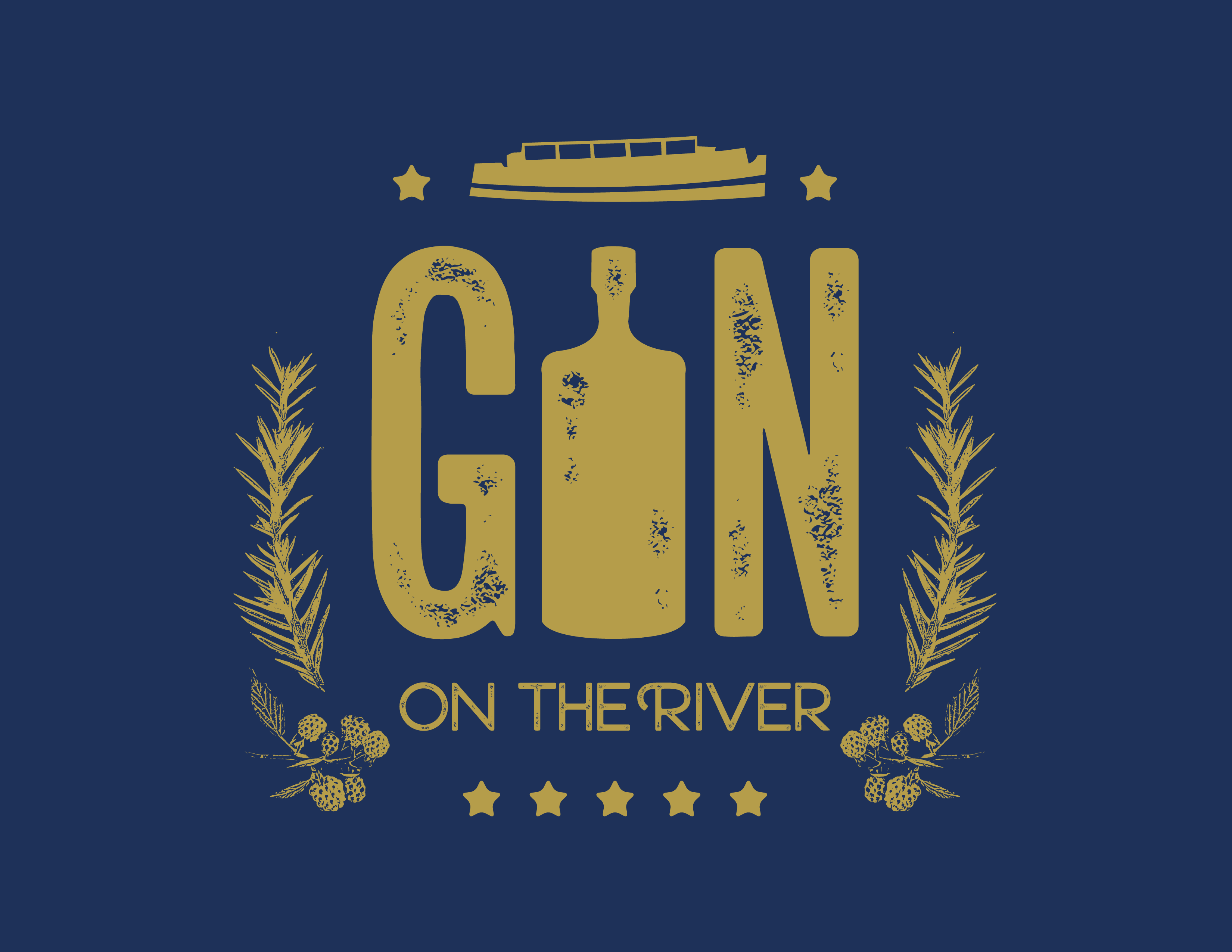 Gin on the River - 24th March 1pm-4pm